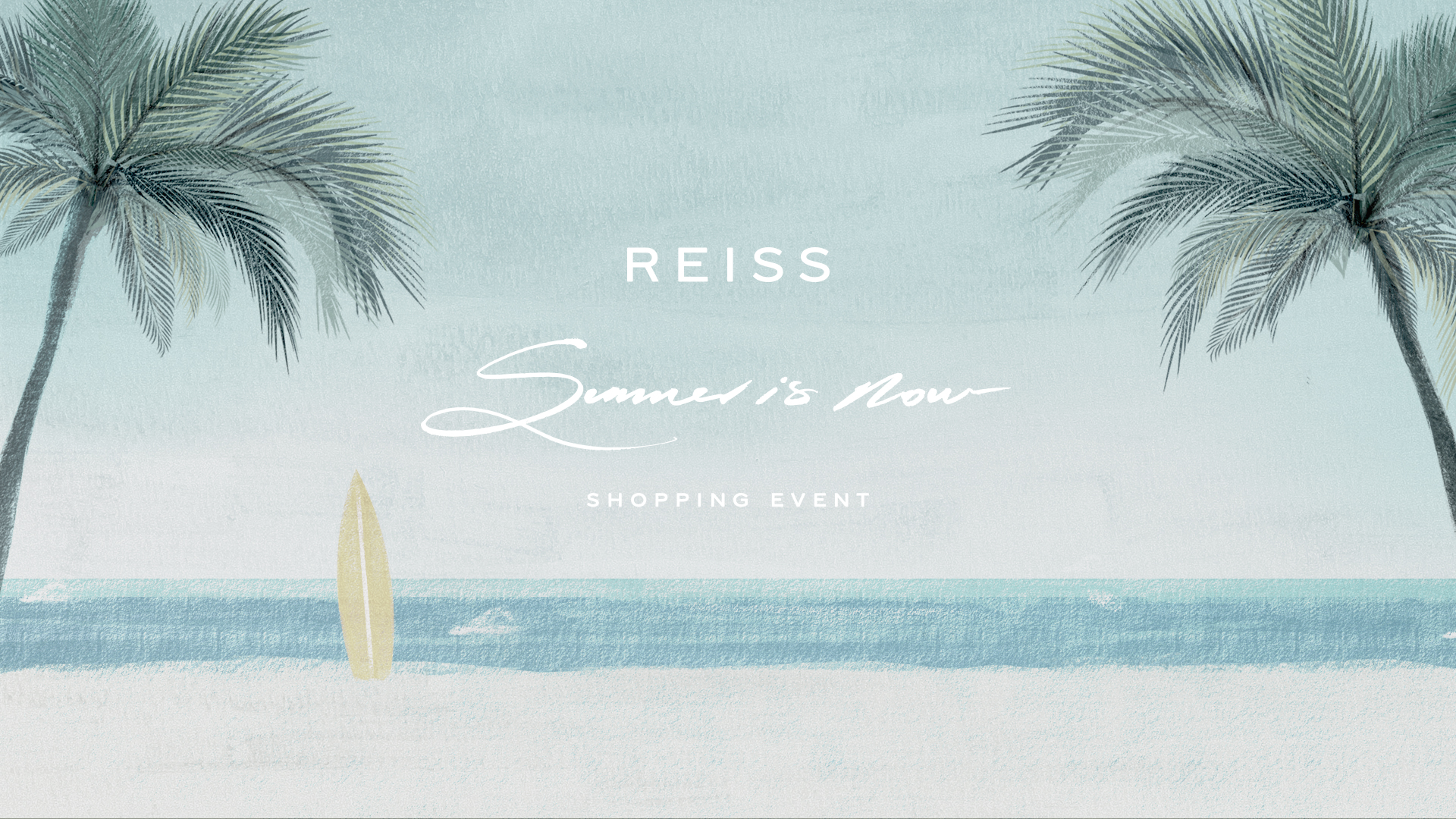 REISS Shopping event – Summer is Now
