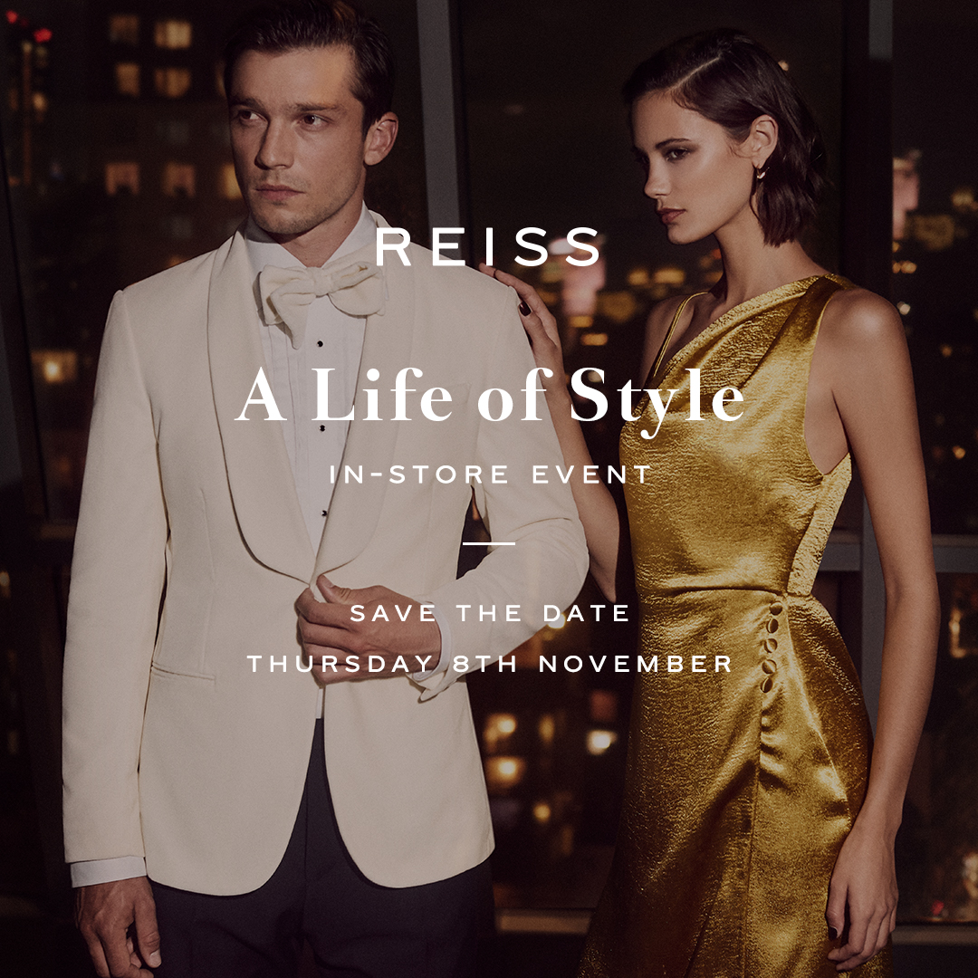 A Life of Style with Reiss