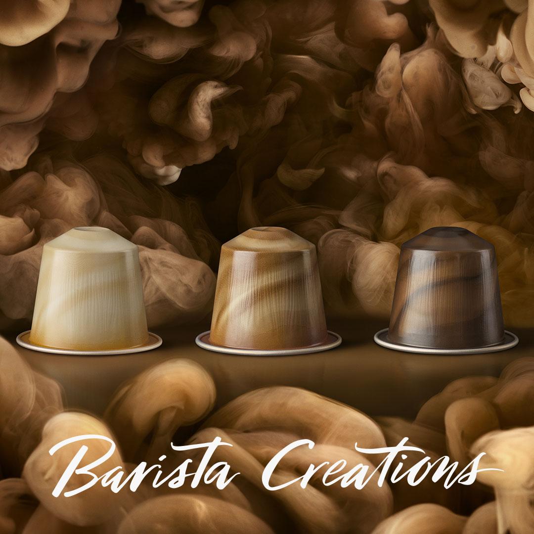 Nespresso Launches New Barista Coffee