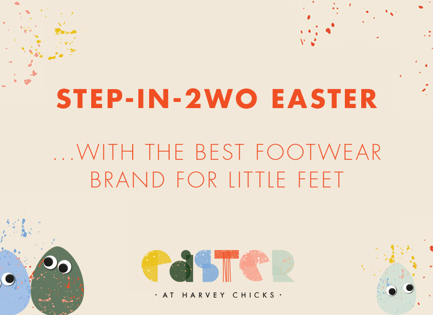 STEP-IN-2WO At Harvey Nichols this Easter