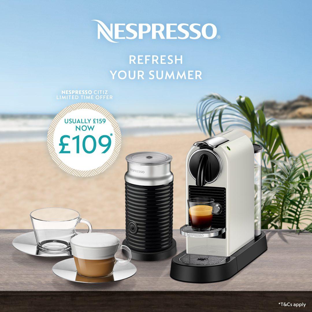 Nespresso Summer Promotion