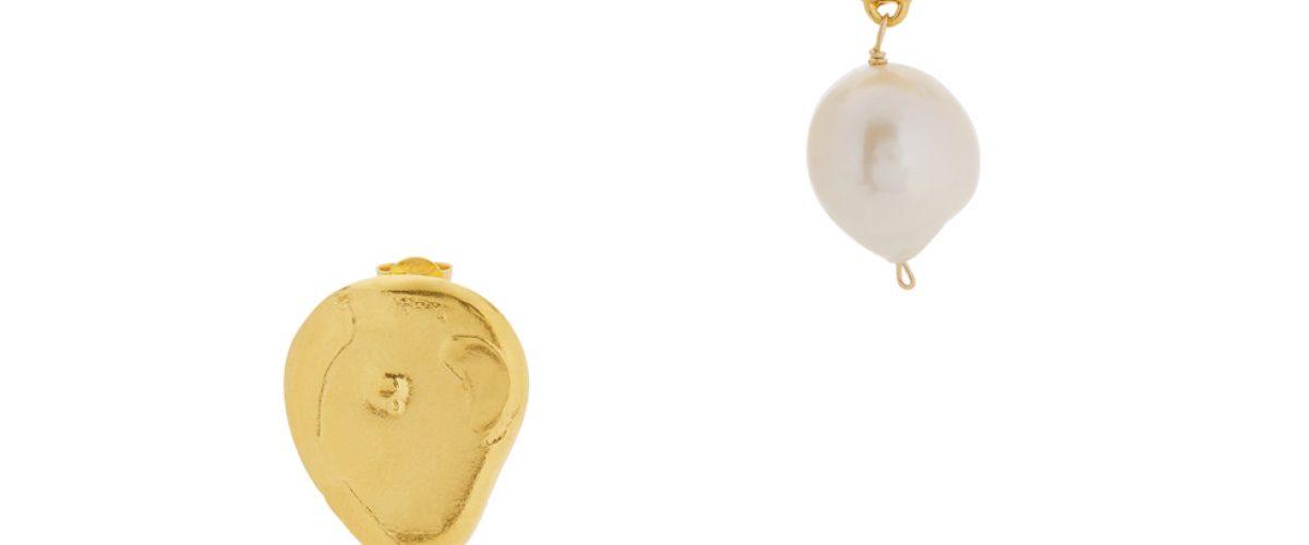 ALIGHIERI_The Infernal Storm 24kt gold-plated drop earrings_£350