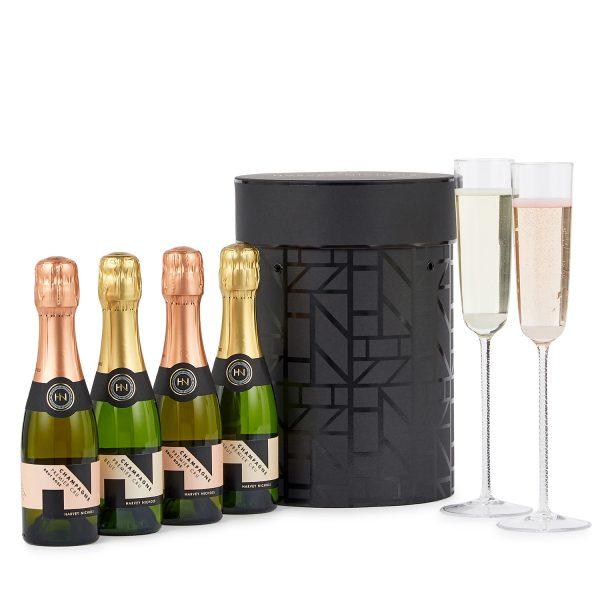 Harvey Nichols_Champagne Hat Box_£60