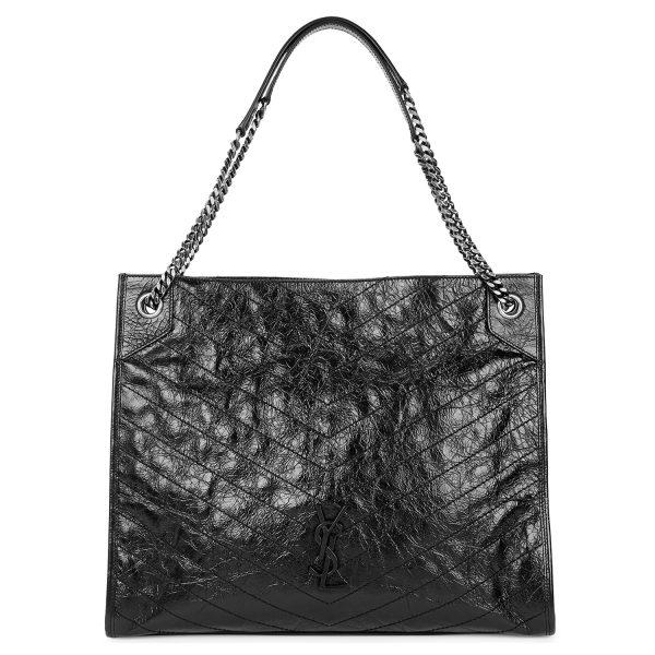 MultreesWalk_SeptemberStyleGuide_SAINTLAURENT_Niki large black leather tote_£1590