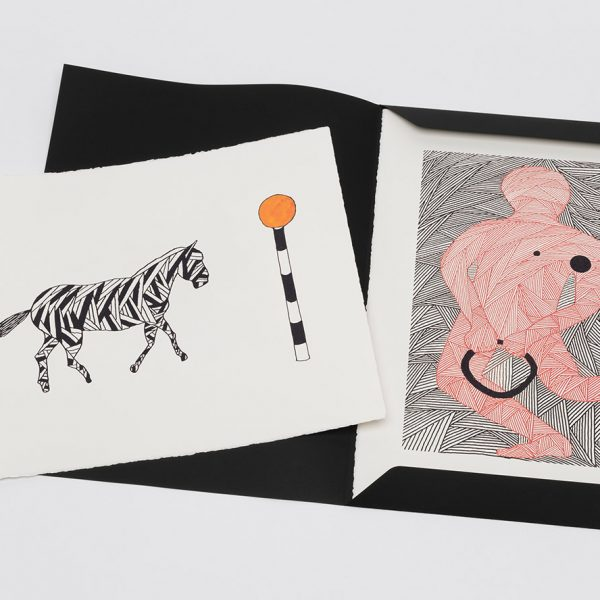 The Born On A Rainy Day Portfolio 2021 (set of 6) (framed £5,750 + unframed £3,950)